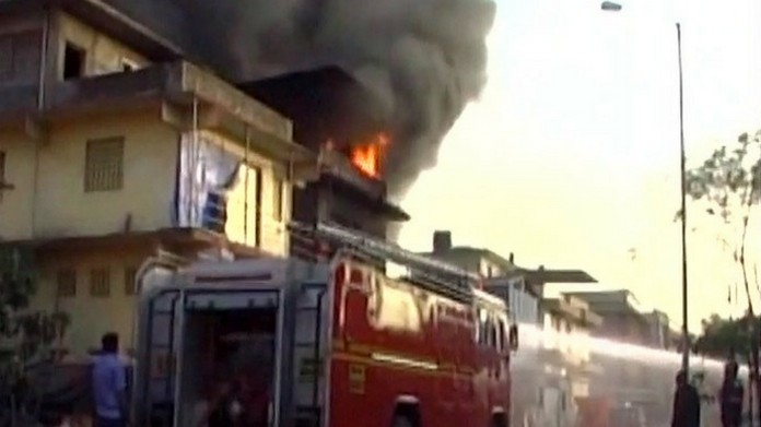 Maharashtra chemical factory caught fire