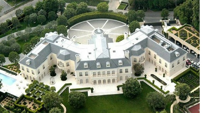 beckham palace inside pics