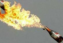 petrol bomb muzhapilangad bomb attack