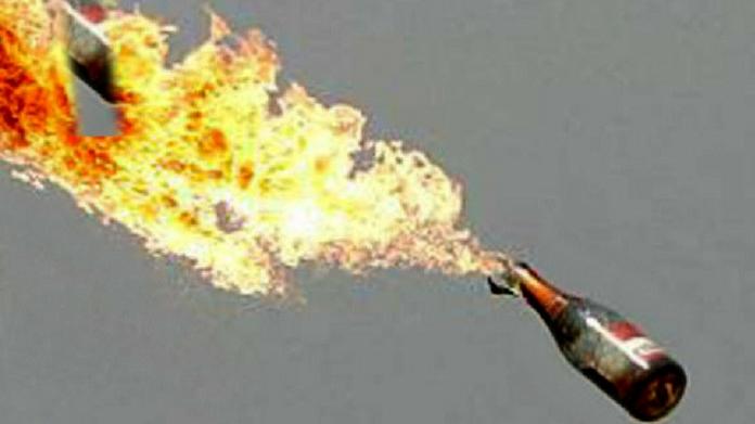 petrol bomb muzhapilangad bomb attack bomb attack against BJP office
