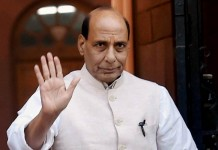 rajnath singh india closes international borders
