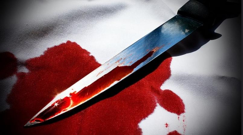 stabbed to death