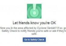 vardha cyclone facebook safety check