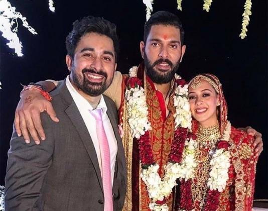 Yuvraj Singh wedding