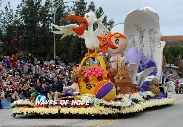 best 10 floats rose parade