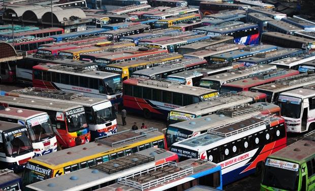 bus strike
