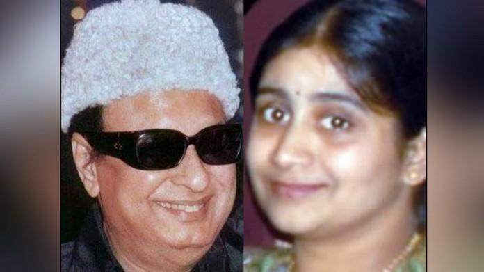 MGR daughter in BJP