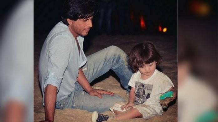 SRK son abram new year gift