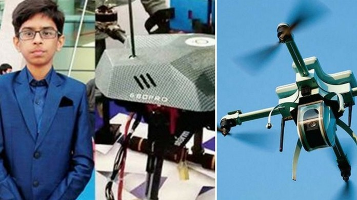 Teenager Creates Drones Strikes Rs. 5 Crore Deal With State Government