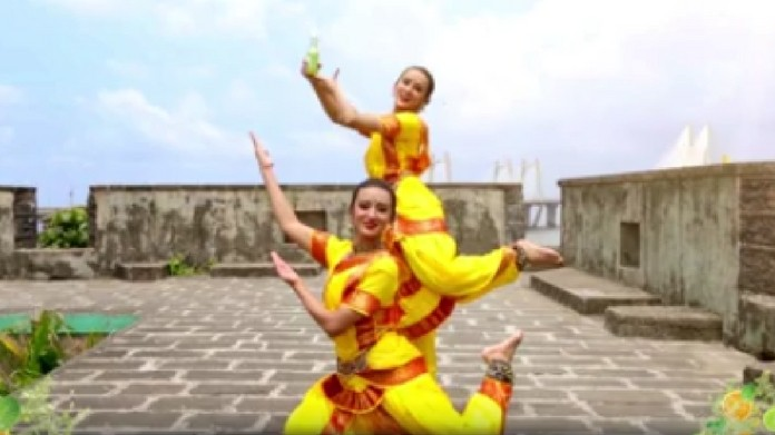 What happens when Bharatnatyam meets Hip hop