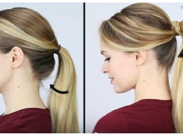 poofy ponytail