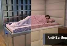 bed that will save your life in case of an earthquake