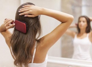 right way to brush your hair
