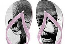 gandhi in slippers