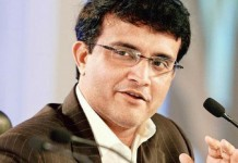 ganguly meets indian team members