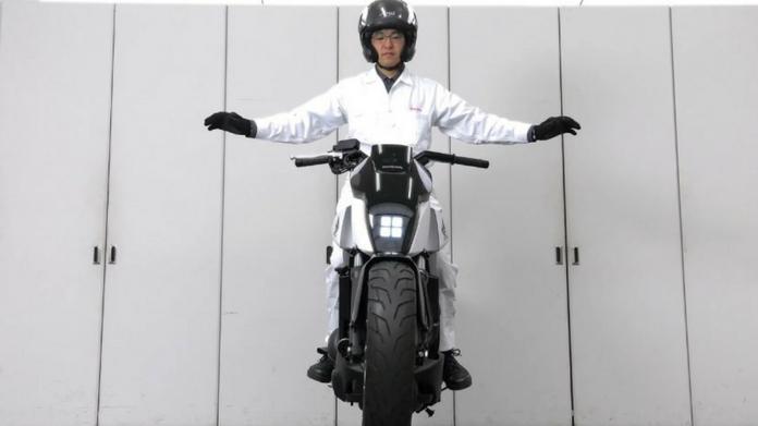 honda self balancing bike