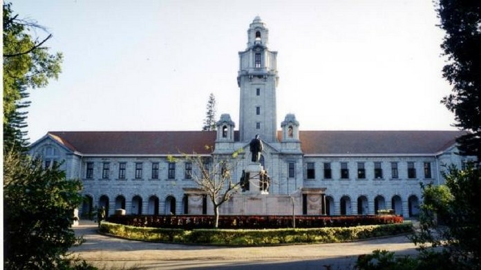 indian institute of science online application