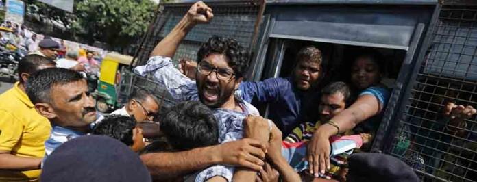 dalit leader jignesh mevani arrested