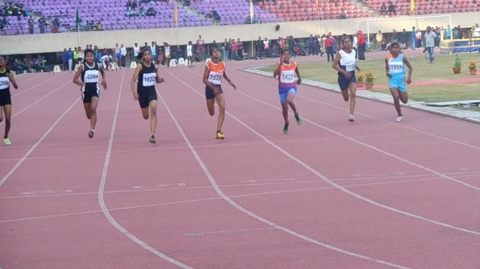 kerala won national senior school athletic meet