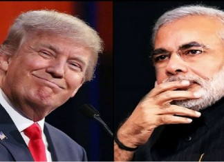modi extends best wishes to trump