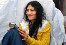 irome sharmila irom sharmila to come kerala