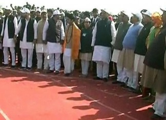 world's longest human chain at bihar