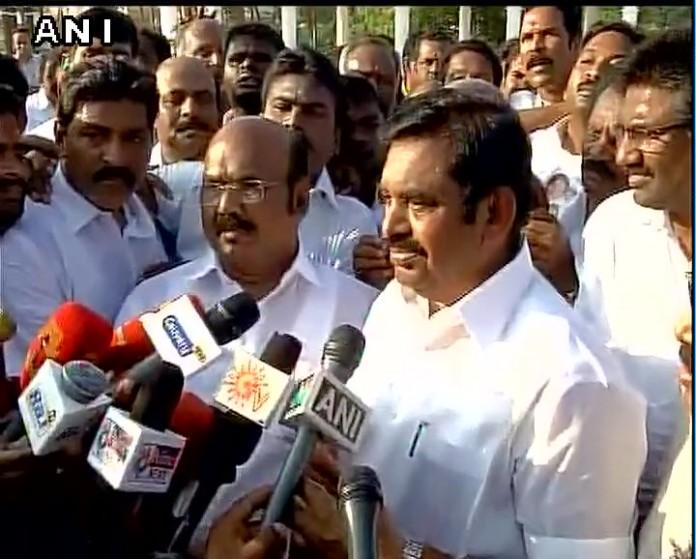 palaniswami public support tamilnadu politics