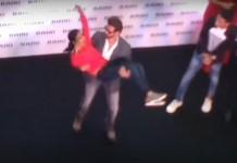 Hrithik roshan in Kochi dancing with a mallu girl