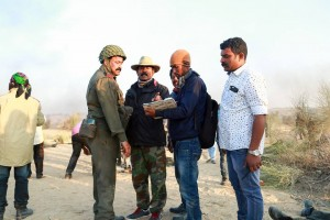 Mohanlal major ravi shoot