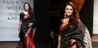 Priety Zinta lakme fashion week