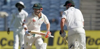 australia lose one wicket