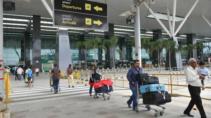 bengaluru based couple send fake bomb alert to airport threat for airports in india