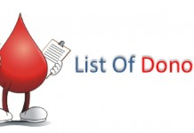 blood donors directory