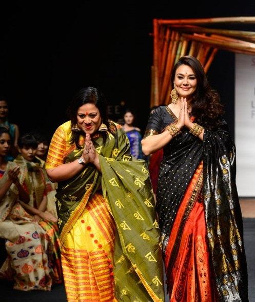 Priety Zinta lakme fashion week