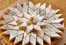 easy recipe of cashew barfi