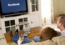 facebook in tv