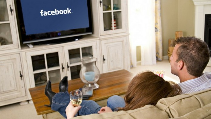 facebook in tv