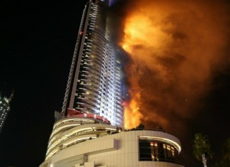 fire outbreak at abudhabi