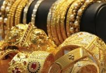 gold price falls