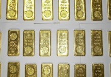 gold smugling ninety crore fine imposed