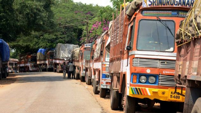 goods vehicle strike affected business sector goods lorry strike stopped