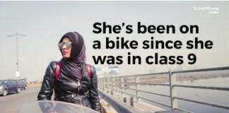 hijabi biker video goes viral