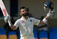 kohli gets double century and sets new record