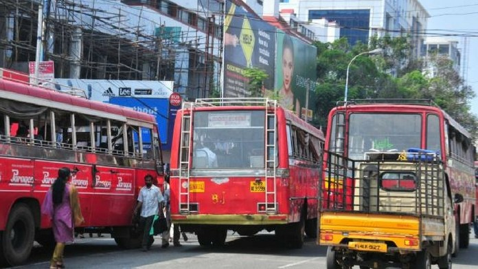 limitations imposed on private bus