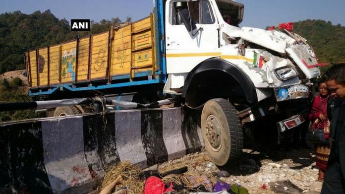 meghalaya truck accident killed 16 kaypamangalam accident