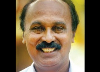 minister e chandrasekhar hospitalized