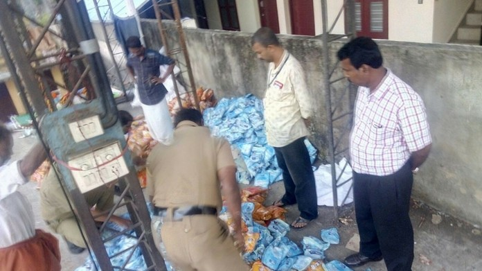 panmasala worth one crore seized
