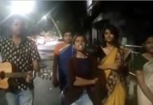 rap protest against sasikala