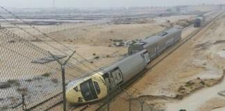 saudi train derailed