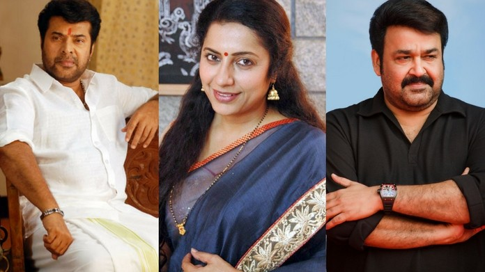 suhasini about mammootty and mohanlal